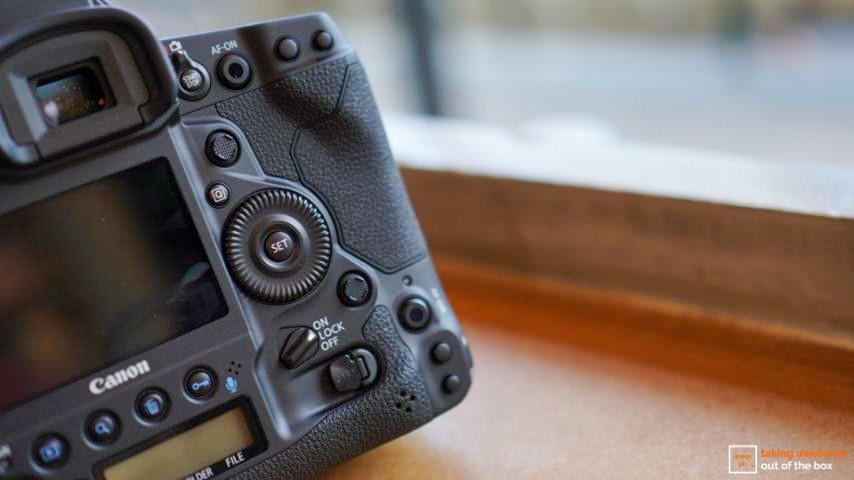 Canon EOS-1DX Mark III buttons