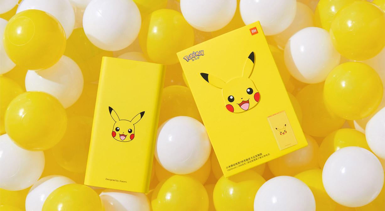 Xiaomi Releases Pokémon Branded Accessories