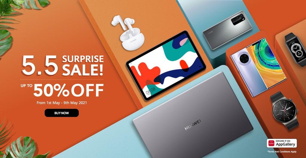 Huawei 5.5 Surprise Sale