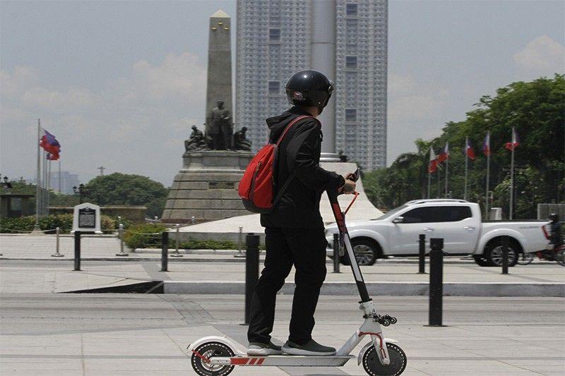 E-Scooter ng Rehistro ng Mandatory na LTO