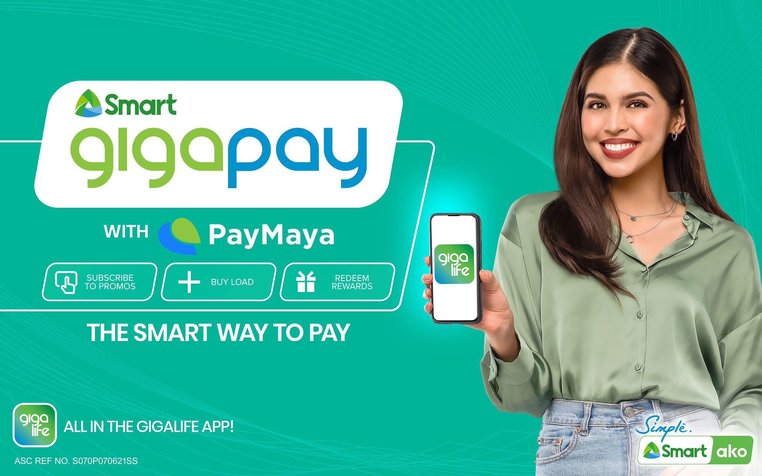 GigaPay with PayMaya KV