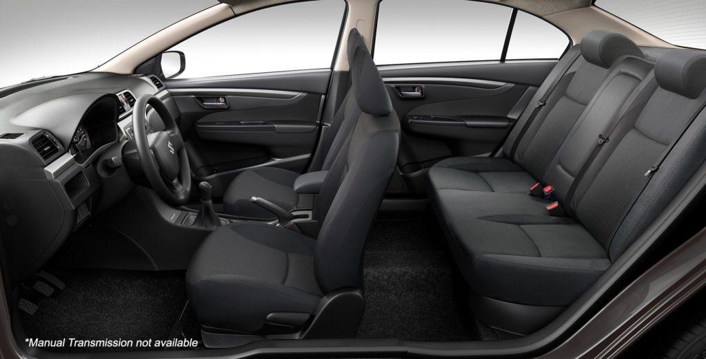 2021 Suzuki Ciaz Interior