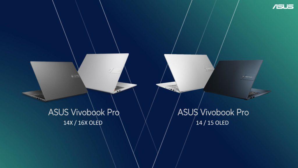 Inihayag ng ASUS ang 2021 Serye na Nakatuon sa Tagalikha ng VivoBook Pro OLED Series