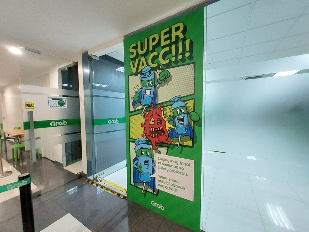 Inilunsad ng Grab Philippines ang Bagong Bakuna Center sa Makati
